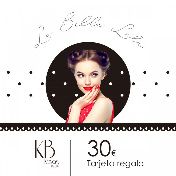 """Tarjeta Regalo """"La Bella Lola"""" 30€"""